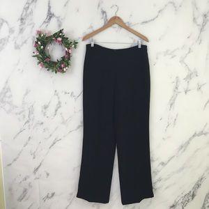 Ann Taylor LOFT Wide Straight Leg Dress Pants